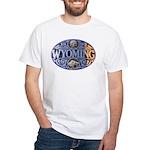 WYOMING White T-Shirt