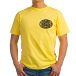 WYOMING Yellow T-Shirt
