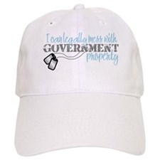 Funny Airman's girlfriend Baseball Cap
