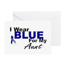 I Wear Blue 3 (Aunt CC) Greeting Card