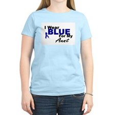 I Wear Blue 3 (Aunt CC) T-Shirt