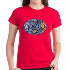 WYOMING Women's Dark T-Shirt
