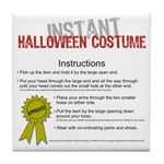 Instant Halloween Costume Tile Coaster