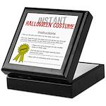 Instant Halloween Costume Keepsake Box