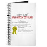 Instant Halloween Costume Journal