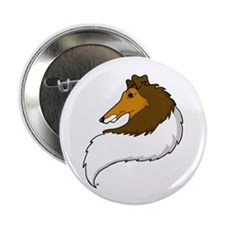 "Collie 2.25"" Button (10 pack)"