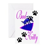 Bad Kitty Greeting Cards (Pk of 10)