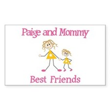 Paige & Mommy - Friends Rectangle Decal