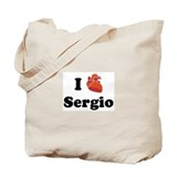 I (Heart) Sergio Tote Bag