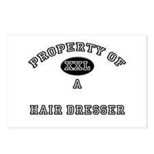 Property of a Hair Dresser Postcards (Package of 8