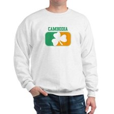 CAMBODIA irish Sweatshirt