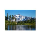 Mt. Shuksan Rectangle Magnet (100 pack)