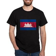 Cambodian Flag T-Shirt