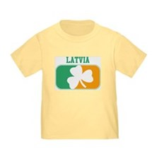 LATVIA irish T