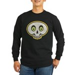 Skull Halloween Long Sleeve Dark T-Shirt