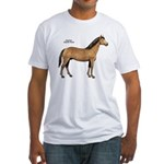 American Quarter Horse Fitted T-Shirt