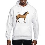 American Quarter Horse (Front) Hooded Sweatshirt