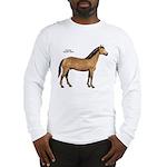 American Quarter Horse (Front) Long Sleeve T-Shirt