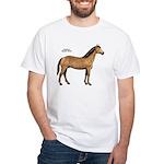 American Quarter Horse White T-Shirt