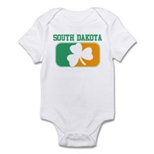 SOUTH DAKOTA irish Infant Bodysuit