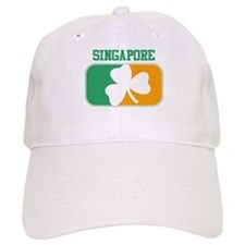 SINGAPORE irish Baseball Cap