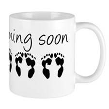LEFT HANDED Triplets Coming Soon Mug