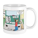 Cute Dog comics Mug