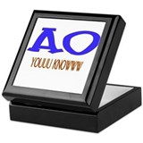 Tau beta sigma Keepsake Box