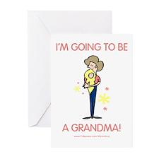 Soon To Be Grandma Greeting Cards (Pk of 10)