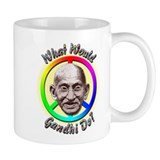 &quot;What Would Gandhi Do?&quot; Small Mug