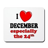 December 24th Mousepad