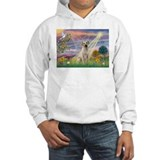 Cloud Angel & Yellow Lab Hoodie
