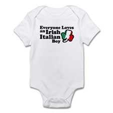 Everyone Loves an Irish Italian Boy Infant Bodysui