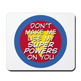 Super Powers 01 Mousepad