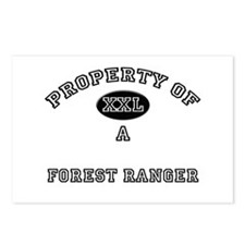 Property of a Forest Ranger Postcards (Package of