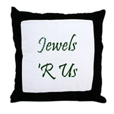 Jeweler or Designer Throw Pillow