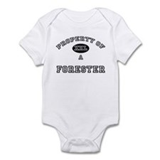 Property of a Forester Infant Bodysuit
