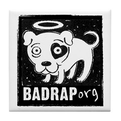 Bad Rap Logo Tile Coaster