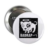 Bad Rap Logo Button
