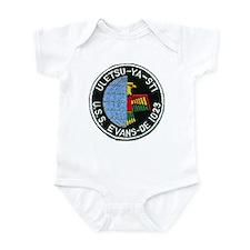 USS EVANS Infant Bodysuit