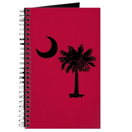 Black and Garnet South Carolina Flag Journal