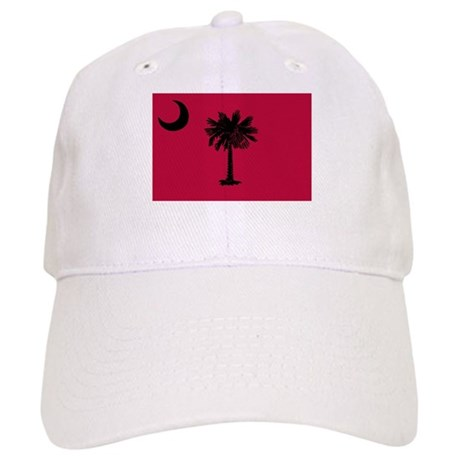 Black and Garnet South Carolina Flag Cap