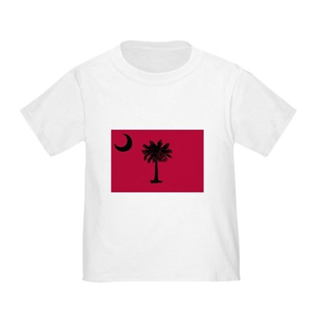 Black and Garnet South Carolina Flag Toddle