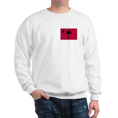 Black and Garnet South Carolina Flag Sweatshirt