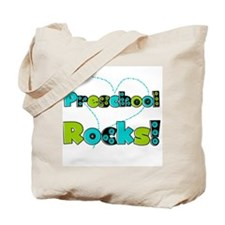 Preschool Rocks Tote Bag
