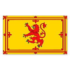 Scottish Royal Flag Bumper Stickers