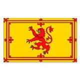 Scottish Royal Flag Decal