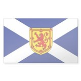 St. Andrew's Cross Royal Bumper Stickers