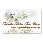 Tidewater Bichon Frise Rescue Sticker (Rectangular