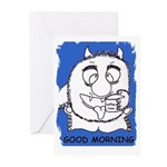 GOOD MORNING love Greeting Cards (Pk of 20)